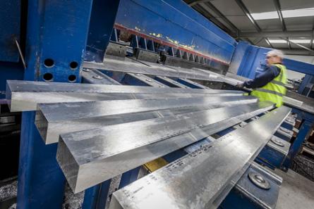 SSA Metal Saw Cutting Metal